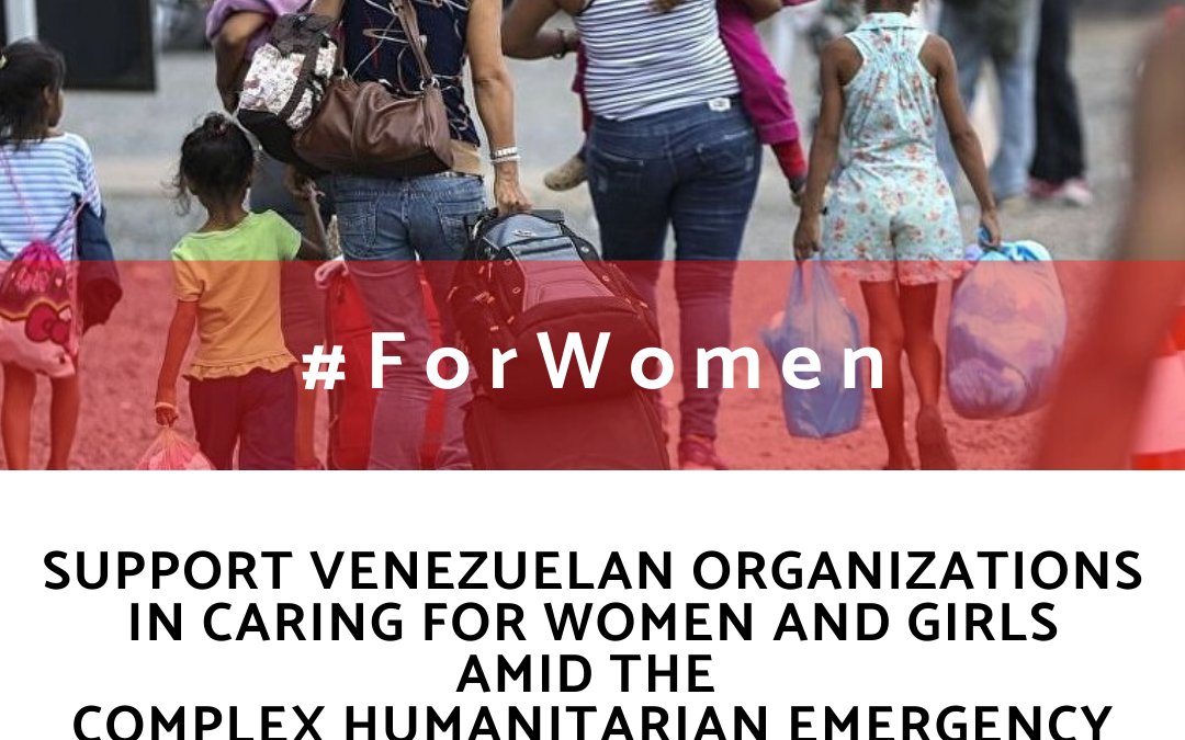 Con Ellas/For Women, a platform to support women and girls affected by crisis in Venezuela