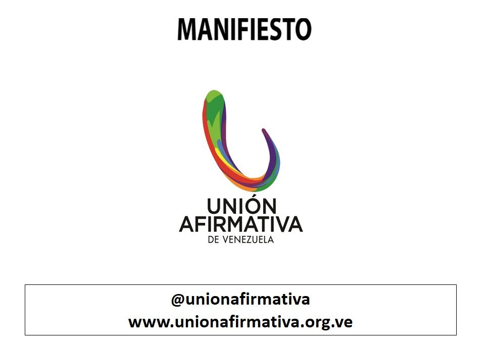 UNIÓN AFIRMATIVA MANIFIEST ON PRIDE MONTH 2020