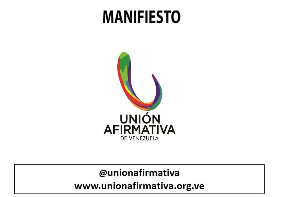 UNIÓN AFIRMATIVA MANIFIEST ON PRIDE MONTH 2020