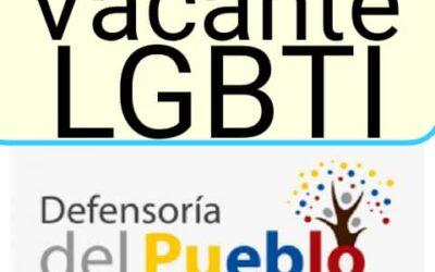 Designación de la Defensora nacional para la diversidad sexual