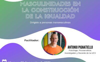 Masculinidades en la construcción de la igualdad
