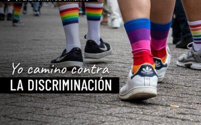 Caminata contra la discriminación